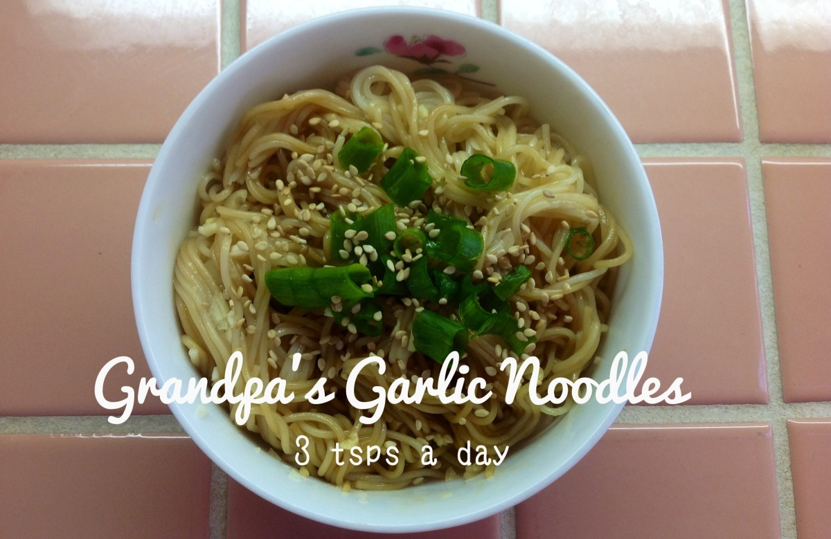 Grandpa's Garlic Noodles